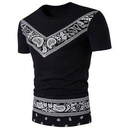 2019 vestiti nigeriani 2019 Estate Mens T-shirt Vestiti africani Manica corta Stampa Rich Bazin Tops Africa Nigerian Fashion Style Abiti Maxi Abbigliamento vestiti nigeriani economici