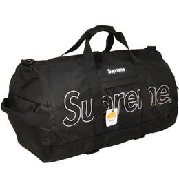 Argentina 19ss Nuevo diseño de marca de lujo Sup Duffle Mujer Hombre Bolsos de moda casual calle bolsas al aire libre Suministro