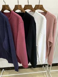 novos homens do inverno que vestem o vintage Desconto 2020 Nova Moda Outono-Inverno Hoodies dos homens das mulheres de manga longa com capuz Brasão roupa ocasional camisola Designer Sweater S-3XL 662FS05