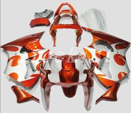 fairing kawasaki ninja new Promo Codes - High quality New ABS motorcycle bike fairings fit for kawasaki Ninja ZX6R 636 2000 2002 ZX-6R 00 02 bodywork custom fairing orange silver