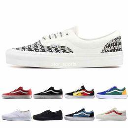 Fear Of God x Era 95 Vans old skool Mens Womens Casual Shoes Revenge X Storm Yacht Club Sports Designer Sneakers size 36 44
