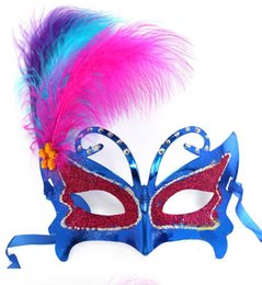 100 pc mulheres face superior de Plástico Masquerade Máscara de Carnaval Carnaval Máscaras Máscaras Venetian para a festa de casamento bola H29 supplier carnival feather face mask de Fornecedores de máscara facial de carnaval