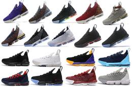 bdfb81cc472 2019 Nouvelle arrivée tous les coloris Oreo FRESH BRED Qu est-ce que le XVI 16  james Multicouleur Chaussures de basketball LeBRon 16 ans Wolf Gris Sports  ...