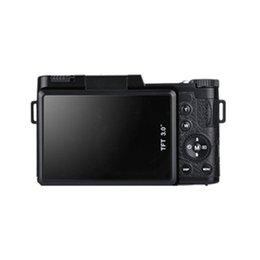 2019 влажные салфетки для очков Профессиональный 3,0-дюймовый ЖК-дисплей 1080P видео цифровая камера 4X Zoom 24MP Поворотный экран Selfie Цифровая камера черный