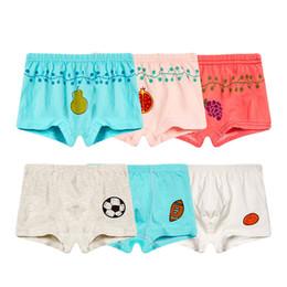 3c5aac3570 Kinder baby baumwolle druck unterhosen Jungen Boxer Shorts Kinder Cartoon  bunte arten hause unterwäsche cartoon Weiche unterhose auf verkauf