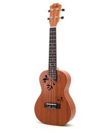 23-дюймовая гитара онлайн-бесплатная доставка специальный 23-дюймовый укулеле красного дерева маленькая гитара для начинающих получение начал практиковать музыкальный инструмент завода прямым