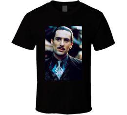 I fan dei prezzi online-Vito Corleone Robert De Niro Padrino 2 Classis Fan Men T Shirt Prezzo più basso 100% cotone