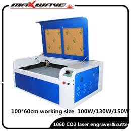 Laser de corte co2 on-line-O envio gratuito de máquina de corte a laser MaxWave 100w co2 9060 6090 gravação a laser máquina de marcação 220V / 110V cnc
