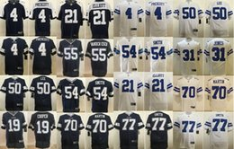 Jersey de 13 elites on-line-2020 Elite DallasCowboysnfl Dak Prescott Football Jersey Leighton Vander Esch Ezequiel Elliott Amari Cooper Jaylon Smith Martin Lee