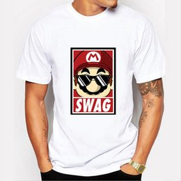 Stampa di minion online-2019 maglietta da uomo nuova Mario Fashion Tee maglietta a maniche corte minion stampata cartone animato Minions donna T0093