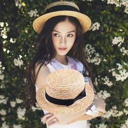 2020 широкополая шляпа пляжа Мода Женщины Девушка Милый BOHO Sun Beach Луфй Широкий Брим летний Cap родитель-потомок техника Девушка Дама дети праздник шлемы Sun скидка широкополая шляпа пляжа