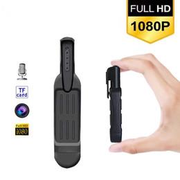 Il video mini macchina fotografica T189 Mini DV videocamera portatile HD 1080P Micro penna della macchina fotografica registratore vocale mini Camaras digitale DVR Cam da registratore vocale a comando remoto fornitori