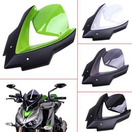 2019 kawasaki ninja pára-brisas Motocicleta do pára-brisa tela vento capa para KAWASAKI Z1000 Z1000SX 2014-2017