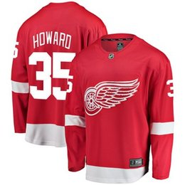 8d4f460c425 China 2019 Cheap Hockey Jerseys Detroit Red Wings Niklas Kronwall Custom  USA Ice Hockey Jersey Blank