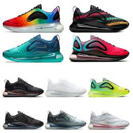 nike air max 720 New True Form Hyperspace Clay Static Mens Scarpe da corsa Kanye West Cream Bianco Nero Bianco allevato donne Fashion Sport Sneakers