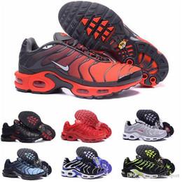 hotsale TN Plus повседневная обувь для мужчин и женщин Royal Smokey Mauve String Colorways Shoes Дизайнер Тройной Белый Черный Тренеры мужская обувь cheap shoes strings от Поставщики шнуры для обуви