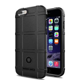 Étui iphone protecteur en Ligne-Armure Rugged Shieldproof Shield Cover Heavy Duty Etui en silicone souple pour Iphone Xr Xs max X 8 7 6 plus