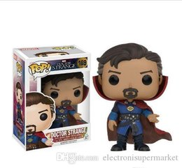 funko pop do natal Desconto China Funko Pop Doctor Strange Vinyl Action Figure With Box # 169 Popular Gift Toy Doll Good Quality Christmas