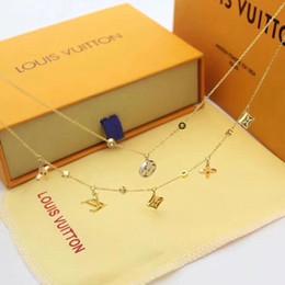 2019 gemelli di lupo Collana Designers pendente di stile del doppio di modo della collana di donne uomini onorevole stili collana Ladys sospensione LVLouisVuitton regalo gioielli