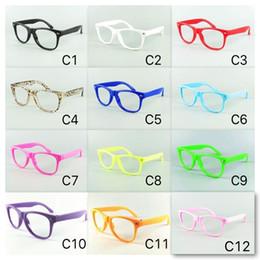 Kinderbrille rahmenobjektiv online-12 Normallack-Feld für Kind-Sonderlings-Eyewear-Feld-Kind-Sonnenbrille-Feld keine Objektiv-Baby-Partei-Gläser DHL geben Versand frei