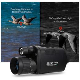 2019 telecamera di visione notturna Askco WiFi Digital IR a raggi infrarossi Night Vision Monocular Telescope Dispositivo Videocamera esterna Video per caccia Bird Watching Scope sconti telecamera di visione notturna