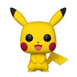 funko pops poupées Promotion Haute qualité Funko POP jouets Pikachu Funko POP Anime Cartoon Pikachu PVC poupées animaux de la bande dessinée jouets Articles d'ameublement meilleurs cadeaux B11