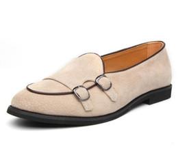 Canada Nouvelle arrivée la personnalité des hommes en daim robe chaussures confortables mâle mariage Homecoming Prom chaussures de soirée formelle pour homme us6.5-10 cx613 cheap men evening dress Offre