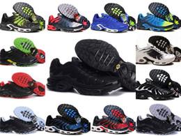 2019 sapatos de borracha para mulheres china Wholesale 2019 TN PLUS Mens Moda Original Tênis TN AIR SHOes Sales TOP Quality Barato França CESTA TN REQUIN ChauSSures Tamanho 40-46