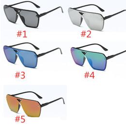 2019 i più nuovi stili di vetro estate più nuovo stile Solo occhiali da sole 5 colori occhiali da sole unisex Occhiali da sole NICE sport occhiali da sole Dazzle color glasses 30 i più nuovi stili di vetro economici