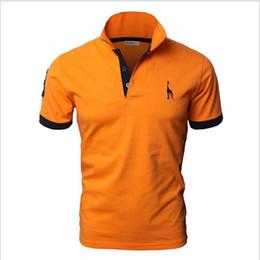 Tommy polo en Ligne-Logo de haute qualité tommy Polo classique marque Hommes Polo Shirt Tee Hommes Business Casual solide à manches courtes polos respirant