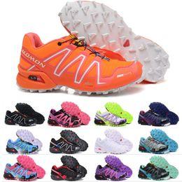 best sneakers 1331c 280ca Salomon Speed Cross 3 CS Herren Outdoor Wanderschuhe SpeedCross Wasserdichte  Frauen Leichtathletik Laufsport Turnschuhe 36-46 preiswerte wasserdichte ...