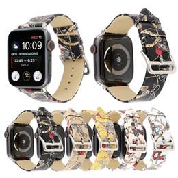 Классический реальный ремешок из натуральной кожи iwatch Smart ремешок для часов для apple watch 4 3 2 1 полоса Ссылки Браслет 38MM 40MM 42MM 44MM от
