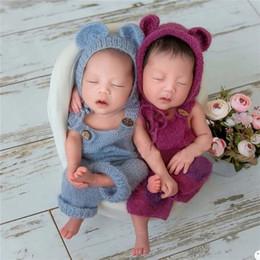 Nouveau-né swaddle sac dans les accessoires photo de bébé nouveau-né Mohair embrasse mohair gratuit-