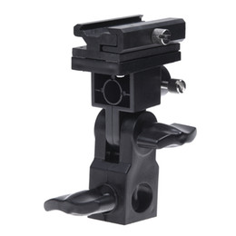 2020 supporto porta ombrello scarpa Swivel Flash Light Nero stand staffa di montaggio a caldo del pattino del supporto dell'ombrello di tipo B sconti supporto porta ombrello scarpa