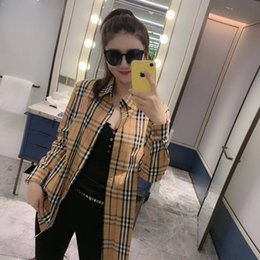 cucendo vestiti Sconti 2019 Luxury Abbigliamento Moda Classic Controllato modello Designer Giacche Donna Autunno cappotto giacca aperta Stitch cardigan camicetta Camicie