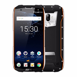 5.7 4g мобильные телефоны android онлайн-Оригинал OUKITEL WP5000 Мобильный телефон RAM 6 ГБ ROM 64 ГБ MTK6763 Octa Core IP68 Водонепроницаемый Android 7.1 Helio P25 4G 5200 мАч 5,7-дюймовый сотовый телефон