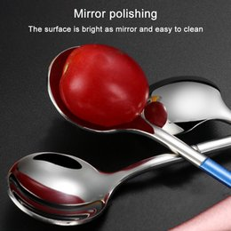 1X Crystal Retro Pattern Stainless Steel Small Cake Spoon Coffee Scoop FH