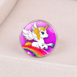 anillo para los dedos macho Rebajas Unicornio tiempo de apertura de piedras preciosas ajustables modelos masculinos y femeninos niña dedo decoración
