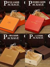 2019 remendo bordado da âncora High-end marca caixa de embalagem de moda personalizada caixa de embalagem caixa de presente da marca de moda