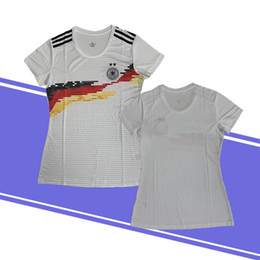 3e01df338ab 2018 Germany Women soccer jerseys MULLER OZIL DRAXLER KROOS HUMMELS KIMMICH  WERNER football shirt camiseta alemani discount germany soccer shirts