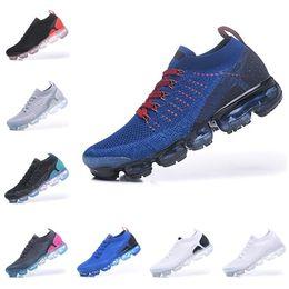 quality design 0239e c4c84 Großhandel NIKE Discount Mode Sport Air 2.0 Damen Herren Laufschuhe Fly  Stricken 2 Chaussures Tn Plus Atmungsaktive Walking Run Sneakers Von  Coateu, ...