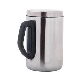 Deutschland Hohe Qualität 2019 500 ml Edelstahl Isolierflasche Wasserflasche Thermoskanne Kaffeetasse Tragbare Tasse Versorgung