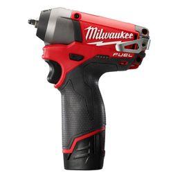 Milwaukee 2452-22 M12 FUEL 12-Volt 1/4-Inch Impact Wrench w / Batterie da