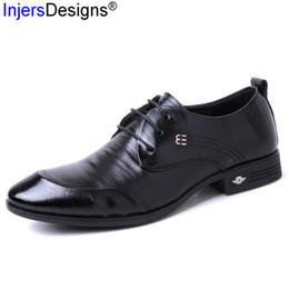 2019 nouveau habiller les hommes Nouvelle Arrivée Chaussures À Lacets Habillés Hommes Britannique Qualité Des Chaussures En Cuir Véritable De Mode Hommes D'affaires Zapatos De Hombre Taille38-44 promotion nouveau habiller les hommes