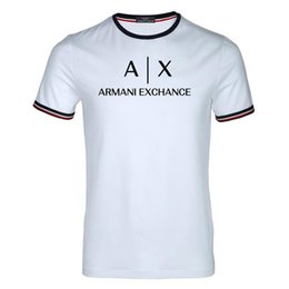lovely shirts man Coupons - 2019 New summer leisure men's 100% cotton T-shirt, letters printed fashionable handsome T-shirt, lovely ladies T-shirt. Free Delivery