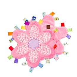 2019 mois année accessoires bébé Nouveau bébé émotion Pacify couverture Cartoon coloré bébé fleur de prunier serviette nouveau-nés apaiser emmailloter B11