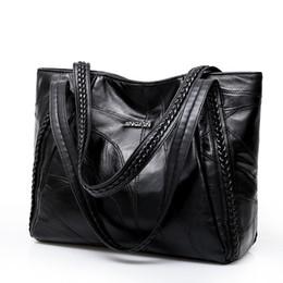 98d69e08b1e7 Women Tote Bag Genuine Sheepskin Patchwork Casual Hand Bags Big Capacity Woman  Shoulder Bag Large Ladies Shopping Bags 2018