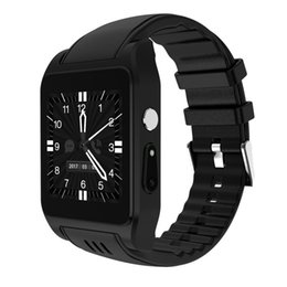 gps wifi smart watch Promo Codes - X86 Bluetooth Smart Watch Android 4.4 RAM 512MB Rom 4G Support Sim Card 3G Wifi GPS Camera 2MP SIM Card PK KW88