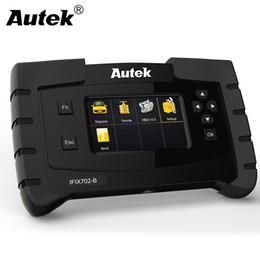 Scanner srs per bmw online-Autek IFIX702-B OBD2 Scanner Multi Lingue Strumento di diagnostica auto ABS SRS Trasmissione airbag per BMW E46 ODB2 Automotive