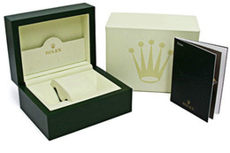 Vert Marque Original Boîte Papiers Cadeau Montres Boîtes Sac En Cuir Carte Pour Rolex 116610 116660 116710 116613 116500 Boîtes De Montre ? partir de fabricateur